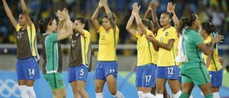 JO 2016 - Fotbal feminin: Suedia, Brazilia si Canada, victorioase in primele meciuri din cadrul Jocurilor de la Rio