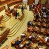 Proiectul privind intonarea imnului naţional la competiţii sportive, adoptat în unanimitate de Camera Deputaţilor