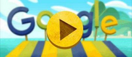 JO 2016: Motorul de cautare Google marcheaza debutul JO cu un doodle inspirat din jocul fructelor (video)