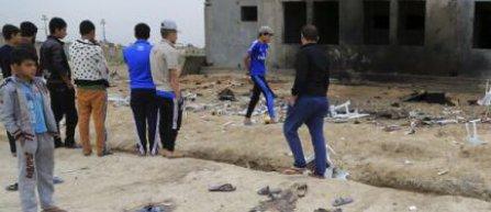 Atentat sinucigas cu 32 de morti pe un stadion din Irak