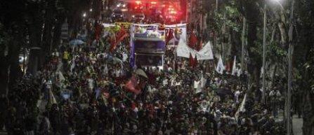 Manifestatie la Rio de Janeiro, pentru boicotarea Jocurilor Olimpice 2016