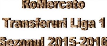 RoMercato - Transferuri din Liga 1 - vara 2015-2016