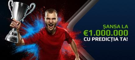 Câștigă 1 milion de Euro cu predicția ta la NetBet