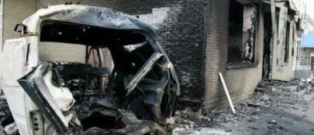Baza de antrenament a clubului Sahtior Donetk, avariata serios de obuze