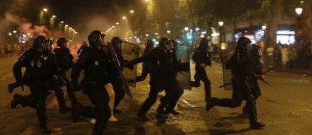 Incidente in Franta, 50 de persoane retinute