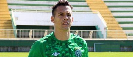 Fostul portar al echipei Chapecoense, Danilo, a fost desemnat de fani cel mai bun jucator al sezonului in Brazilia