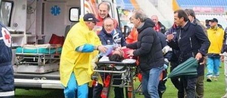 Piermario Morosini, de la Livorno, a decedat, dupa ce s-a prabusit pe teren