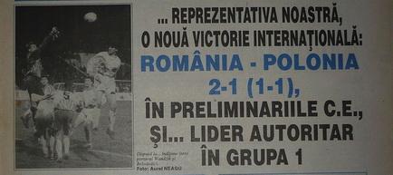 Remember: România - Polonia 1995
