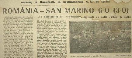 Remember România - San Marino 1990