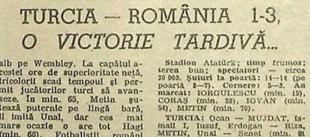 Remember Turcia - România 1985