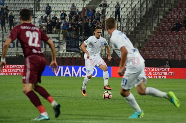 Fotbal - Liga I: CFR Cluj - CS Universitatea Craiova 4-0   Cs U Craiova-cfr Cluj