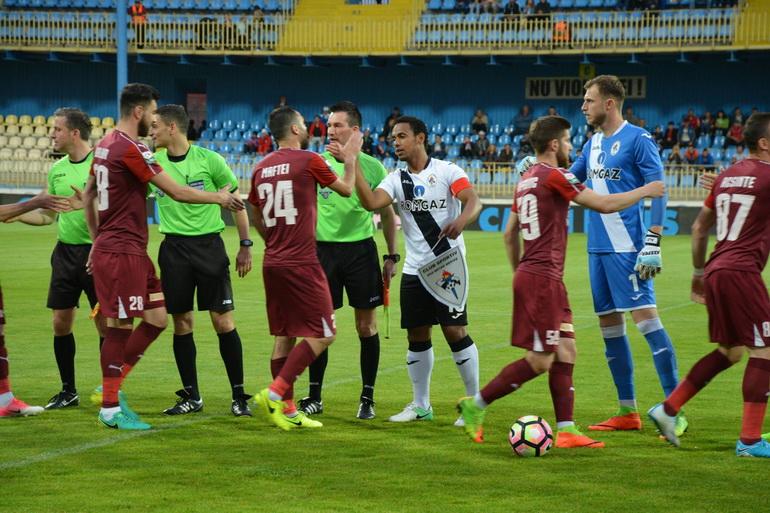 Poze Gaz metan Mediaș - FC Voluntari