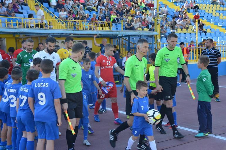 Poze Gaz metan Mediaș - FC Botoșani