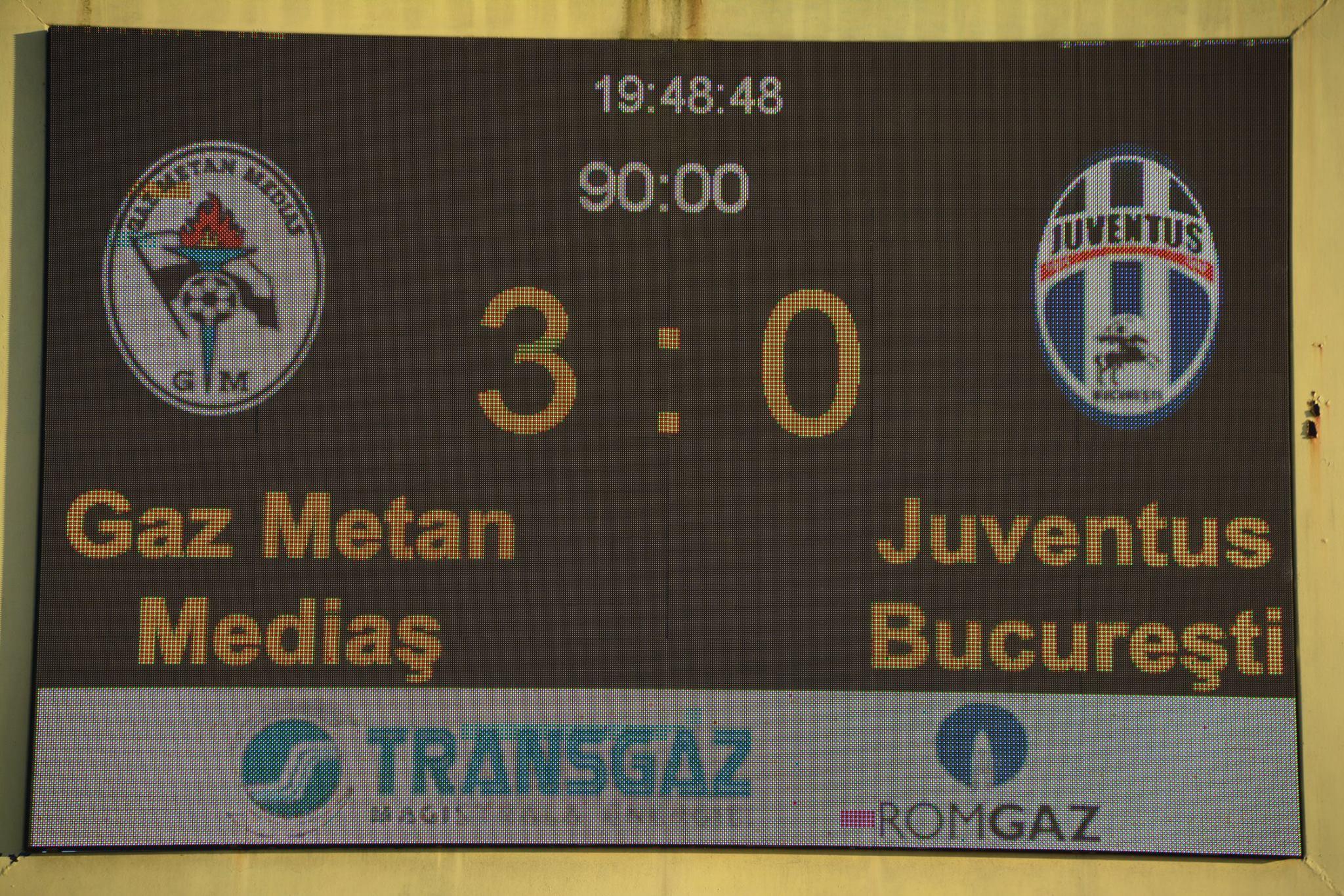 Poze Gaz metan Mediaș - Juventus București
