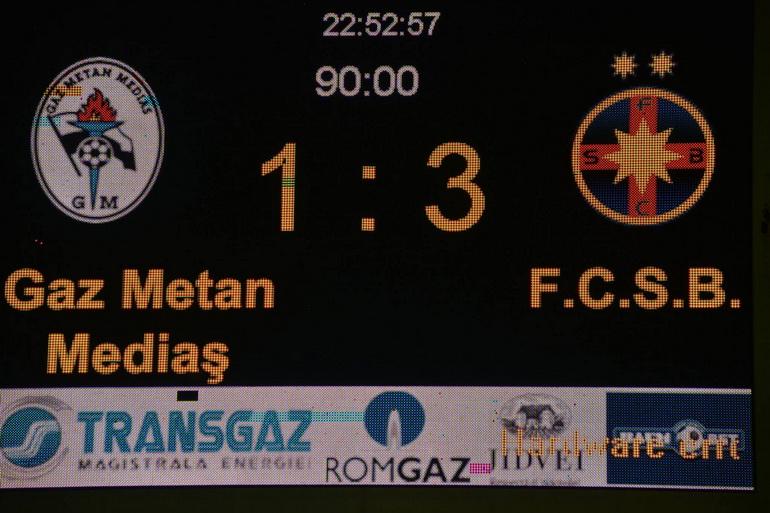 Poze Gaz metan Mediaș - Fotbal Club FCSB