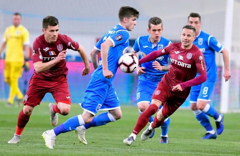 CS U Craiova - CFR Cluj Geniş Özeti İzle   Cs U Craiova-cfr Cluj