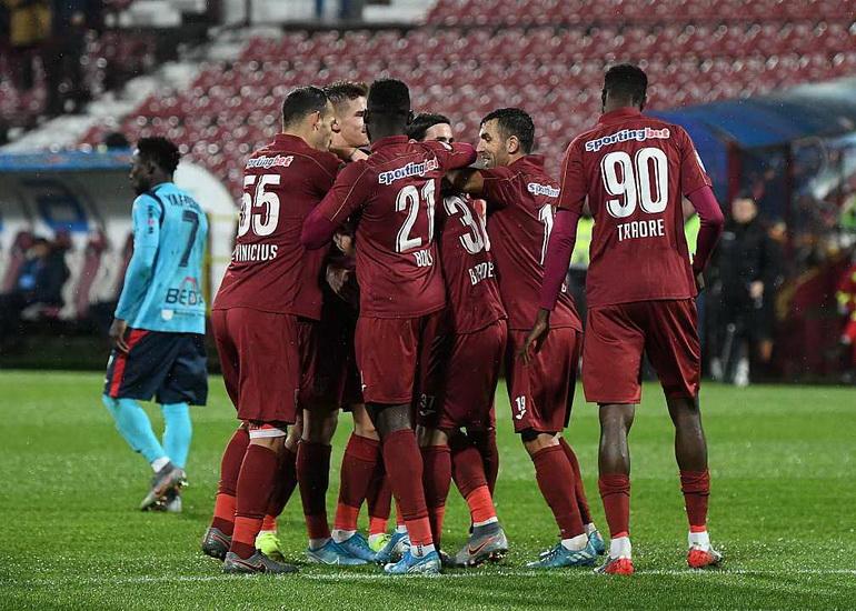 CFR Cluj a învins Chindia Târgoviște și merge mai departe ...   Cfr Cluj- Chindia Târgoviște