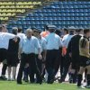 Opt suporteri sanctionati dupa ce au intrerupt partida FC Arges - Universitatea Cluj