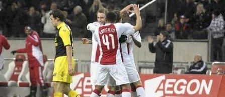Ajax, calificata in sferturile Cupei Olandei